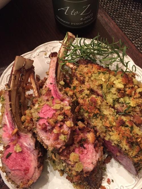 Rack of Lamb - Herb Crusted