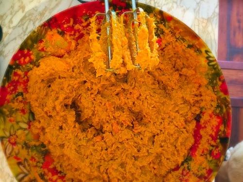 Butternut Squash, Sweet Potato, Carrot Mash