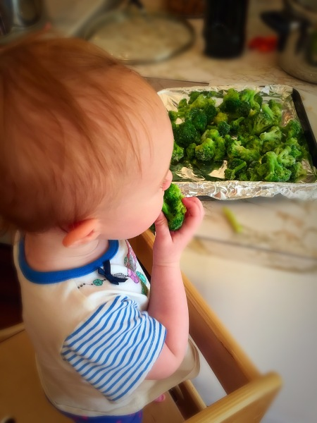 13 Months - Eating Broccoli