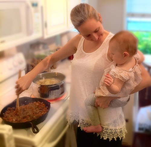Cooking with Maddie - 10 Months