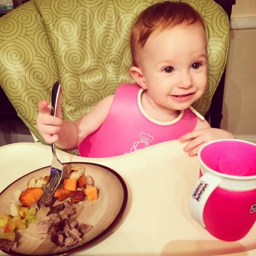 15 Months - Steak Dinner