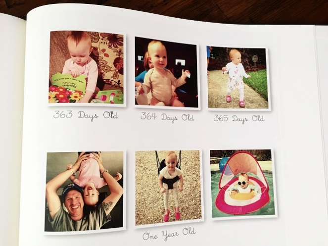 Baby Book - 365 Days of Pictures